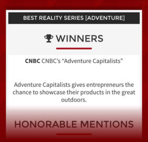 Best New Reality Adventure Show for 2016 - Cynopsis TV Awards